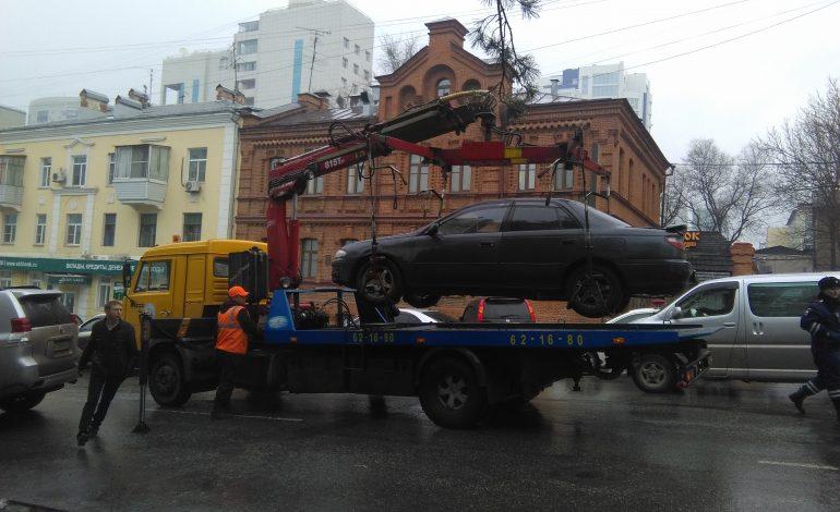 В Хабаровске работает «Паркон», проверьте свой автомобиль на штрафы