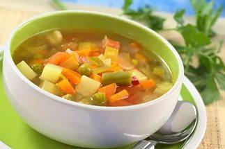 Как я варила постный суп