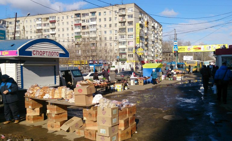 Нелегальная торговля пустила корни на улицах Хабаровска