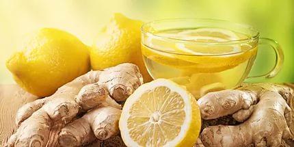 Имбирно-лимонная вкуснятина излечит от авитаминоза