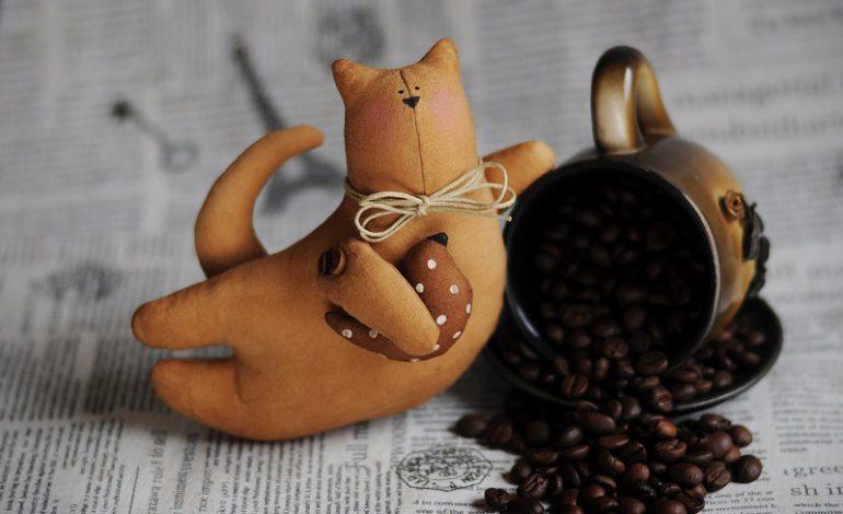 """Мастер-класс """"Кофейный кот"""" (6+), 10 апреля, CandyLand, детский развлекательно-развивающий центр, 12-30"""