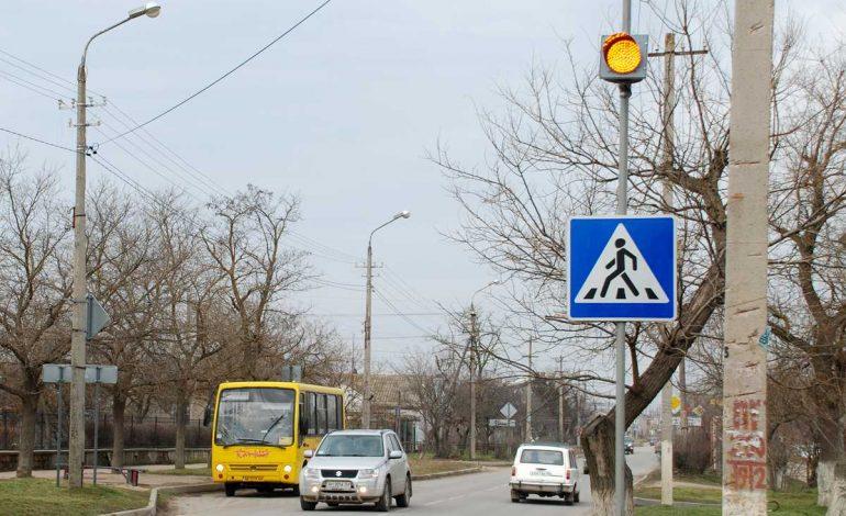 В Хабаровске установят 12 светофоров, информирующих о пешеходных переходах