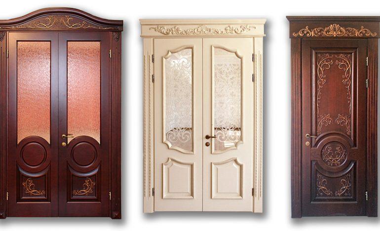 Элитные двери из натурального дерева