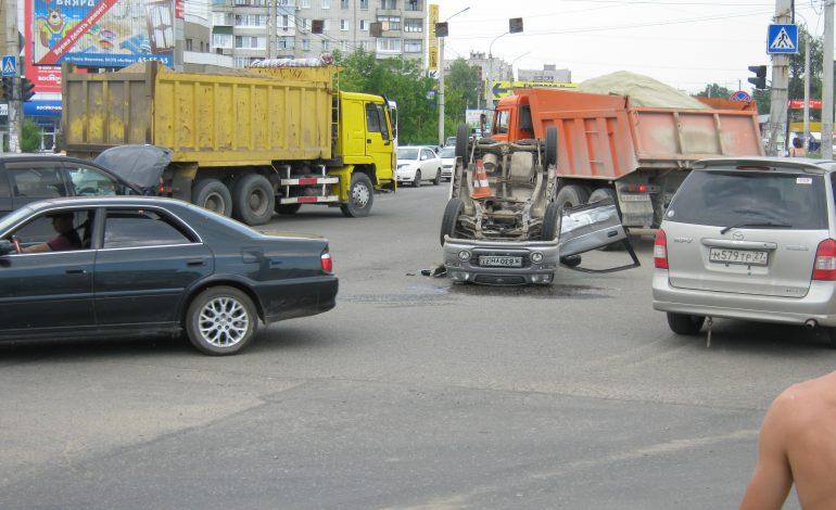Шесть опасных перекрестков Хабаровска