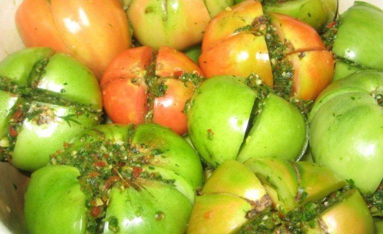 Заготовки из зеленых томатов