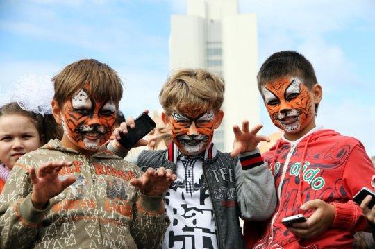 Праздник в поддержку амурского тигра пройдет на городской набережной
