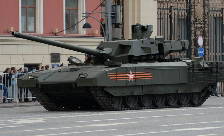 Российскую бронетехнику укомплектуют черными ящиками