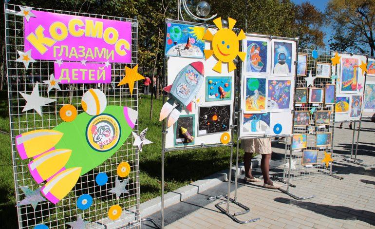Праздником «Краски осени» торжественно открылся обновленный парк имени Гагарина для хабаровчан