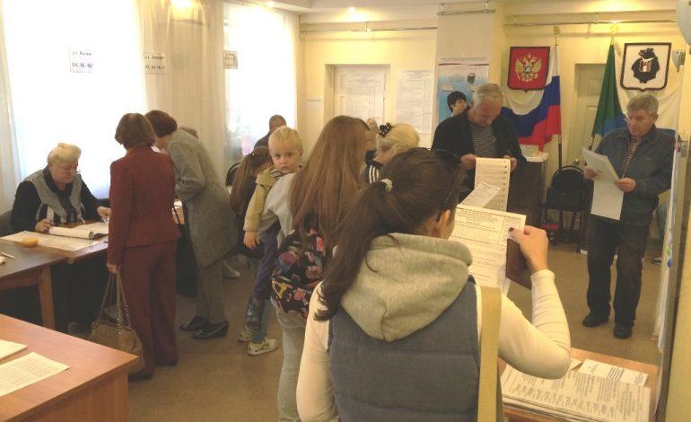 """День выборов в Хабаровске: """"нарушений нет"""", а жалобы есть?"""