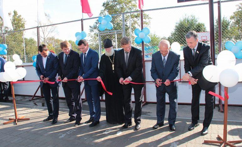 В Хабаровске торжественно открыли парк дома офицеров флота