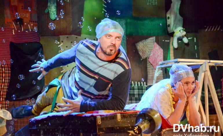 Хабаровчане увидели лучшие спектакли Российского академического молодежного театра