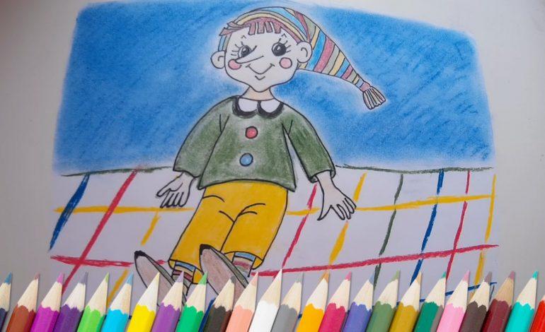Необычное рисование выявляет в детях скрытые способности