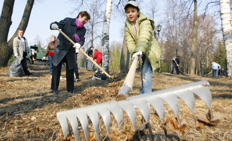 Жители Хабаровского края выйдут на массовый субботник 1 октября
