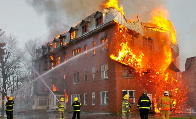 В Хабаровске горела гостиница