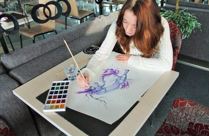 Хабаровская художница Яна Dragonfly рассказала о стиле фэнтези и взглядах на живопись (ФОТОРЕПОРТАЖ)