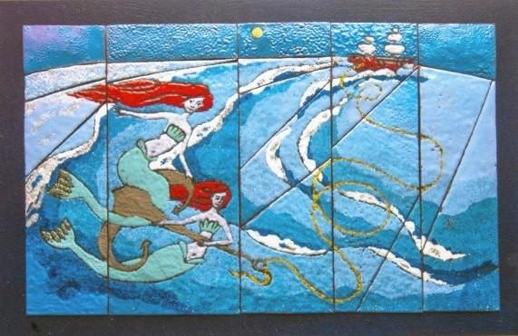 """Выставка """"Другие Берега"""". Горячая Эмаль (0+), до 12 ноября, СКВ-галерея"""