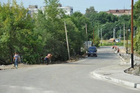 Работы на улице Сеченова в Хабаровске завершатся в ближайшее время