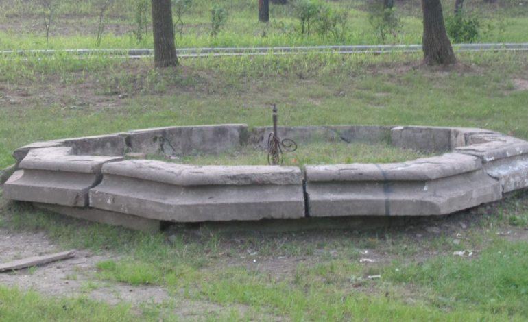 Площадь им. Серышева в Хабаровске превратилась в помойку (ФОТО)