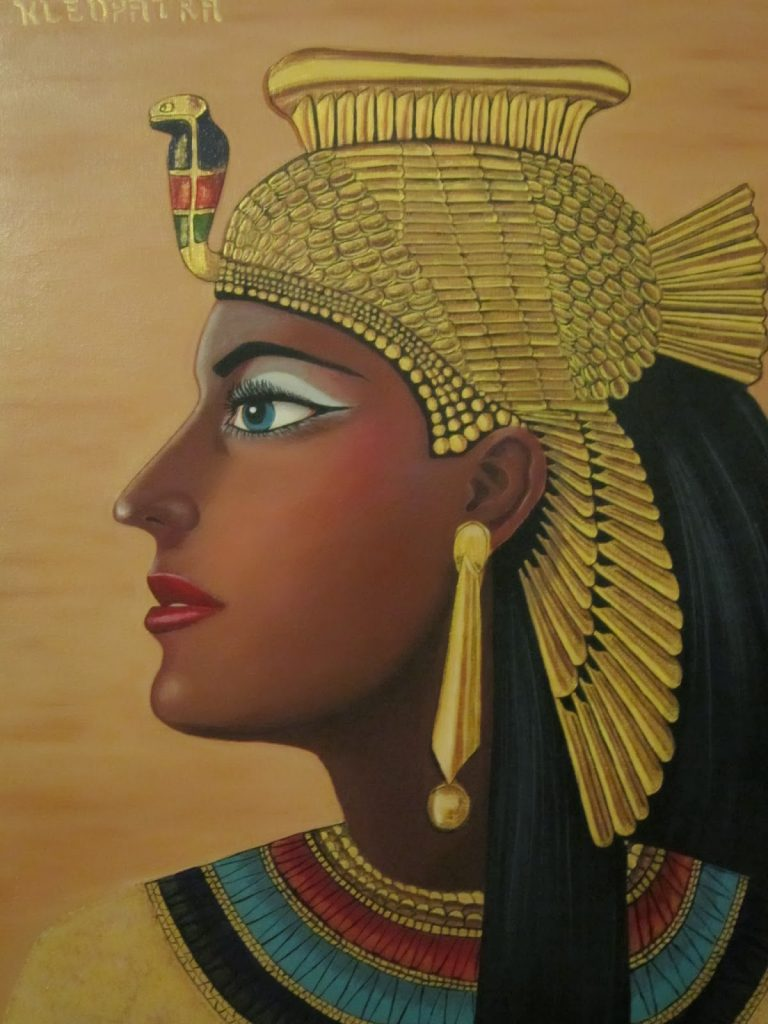 """cleopatra vii For more than 300 years, cleopatra's family ruled egypt she was born the third child of king ptolemy xii in 69 bc her name meant """"glory of the father""""cleopatra's two older sisters died before her father, leaving her with the rights due to the firstborn child."""