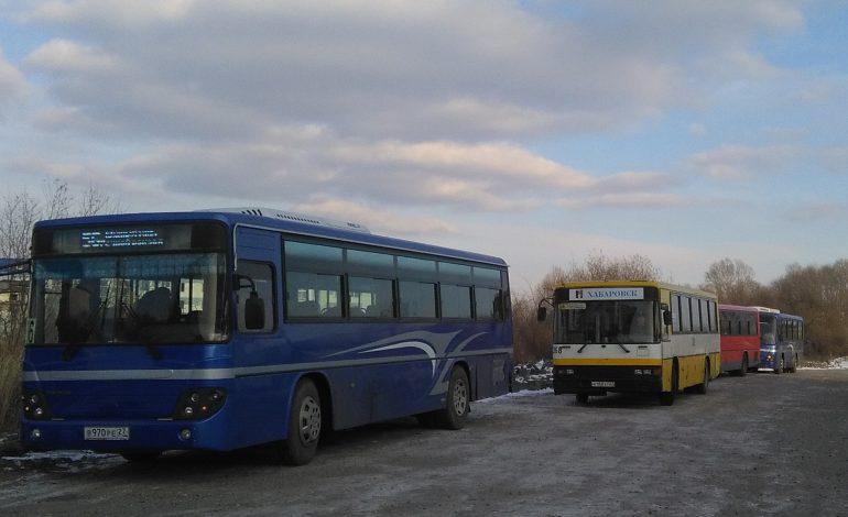 Новую схему маршрутной сети Хабаровска будут снова переделывать