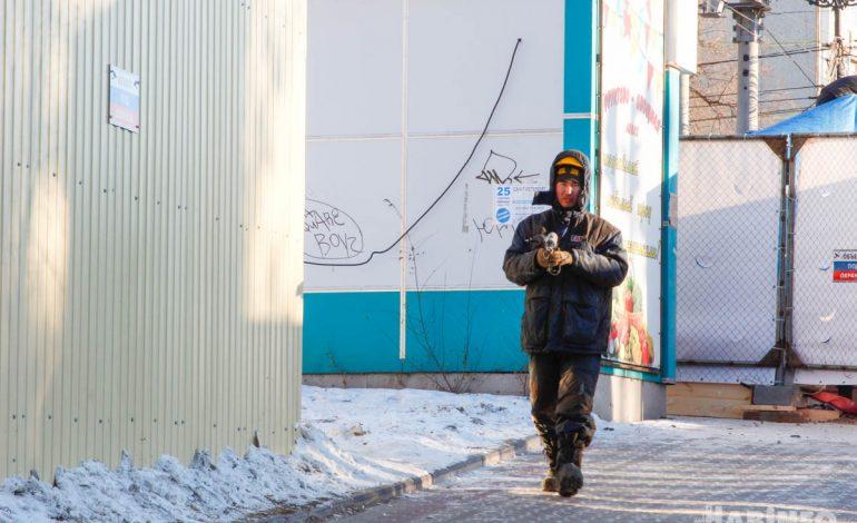Хабаровский небоскреб строят рабочие из Средней Азии (ФОТОРЕПОРТАЖ; ВИДЕО)