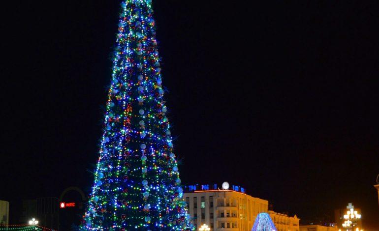 Хабаровчан ждет морозная и бесснежная новогодняя ночь