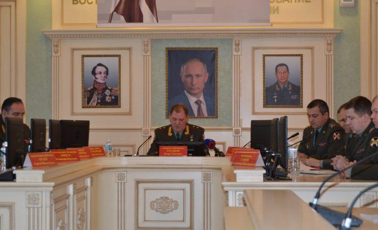 Генерал-лейтенант Игорь Груднов рассказал хабаровским журналистам, чего ждать от Росгвардии