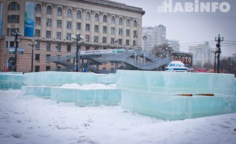 Ледяного петуха не будет на главной площади краевой столицы (ФОТОРЕПОРТАЖ)