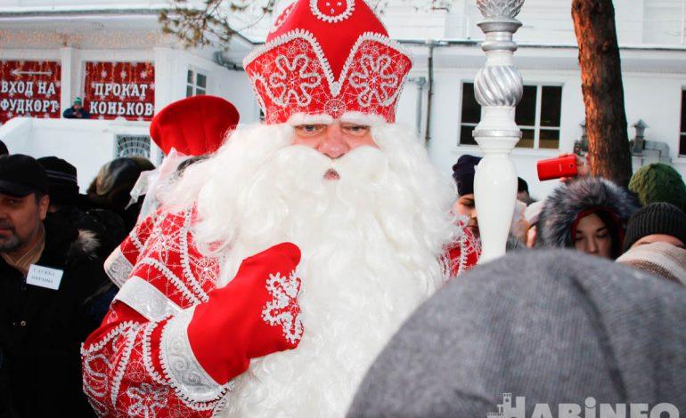 Главный Дед Мороз России принес в Хабаровск потепление (ФОТОРЕПОРТАЖ)