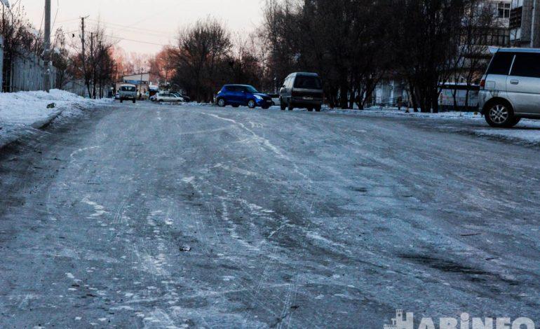 Хабаровчан пострадавших от гололёда в этом году стало меньше (ФОТО)