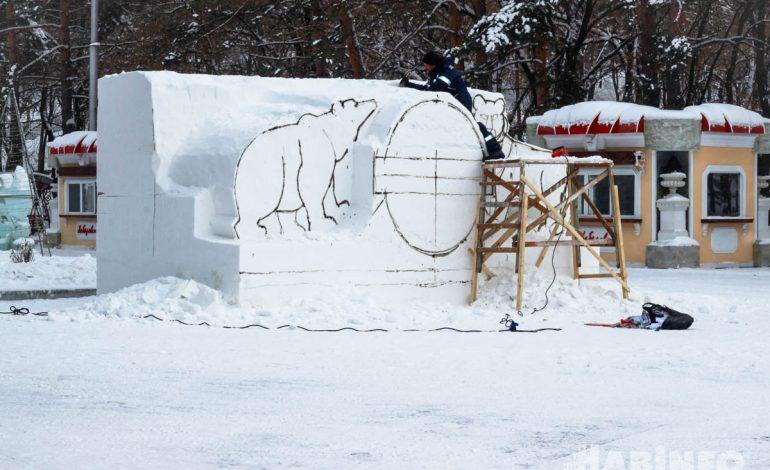 Первый фестиваль снежных фигур пройдет в Хабаровске (ФОТО;ВИДЕО)