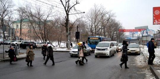 Горячие точки Хабаровска: где пешеходы чаще всего нарушают ПДД