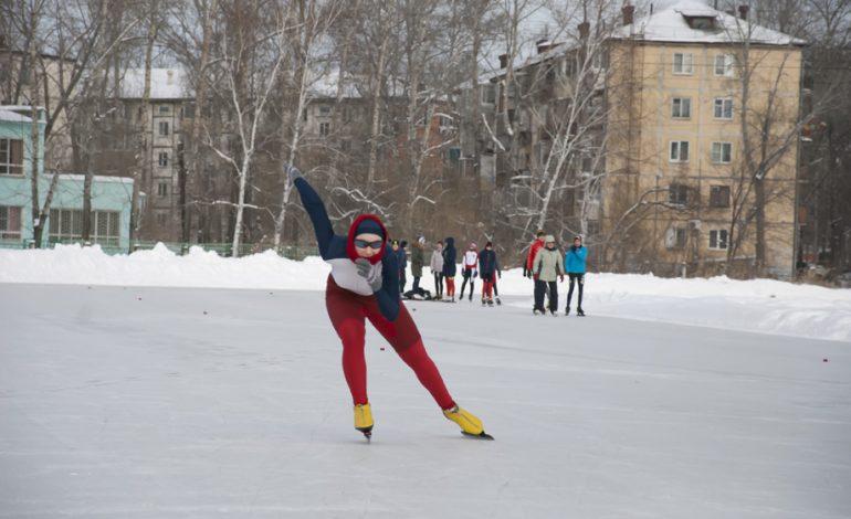Открытое первенство по конькобежному спорту прошло в Хабаровске (ФОТОРЕПОРТАЖ)