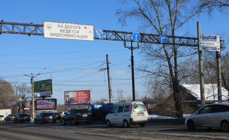 На дорогах Хабаровска добавят камер видеонаблюдения