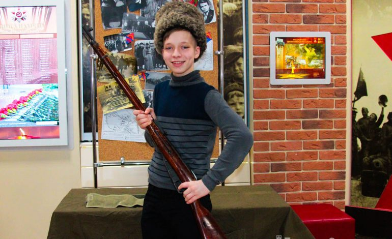 Юных хабаровчан учат любить свою Родину в Центре патриотического воспитания (ФОТОРЕПОРТАЖ)