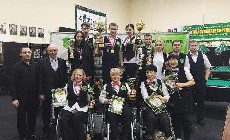 Хабаровчане одержали победу в краевом турнире по бильярду