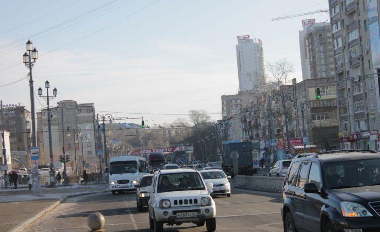В Хабаровске высокий индекс загазованности