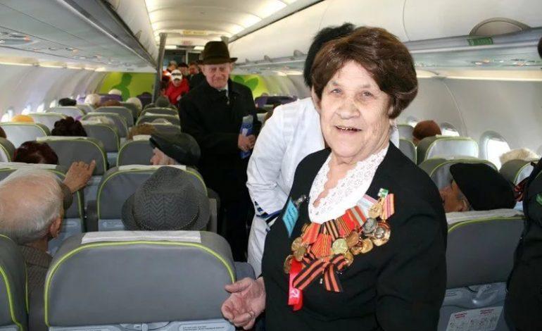 Хабаровские ветераны могут слетать в европейскую часть России всего за 400 рублей