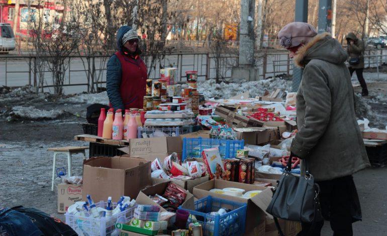 Уличных торговцев будут штрафовать на пять тысяч рублей