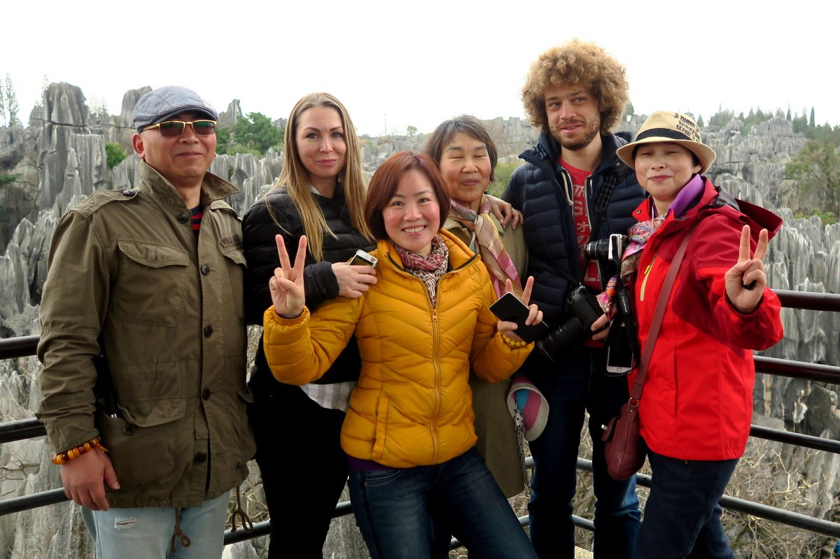 поездка китай