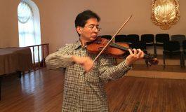 Известный японский скрипач с русской душой Джюн Танимото признался в любви Хабаровску