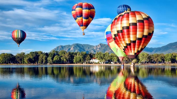 День полета на воздушном шаре