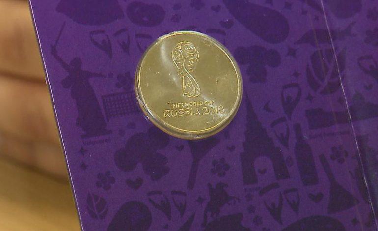 Неразменные двадцатипятирублевые: монеты с Кубком FIFA появились в Хабаровске