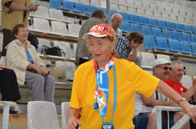В Хабаровске состоялась спартакиада пенсионеров