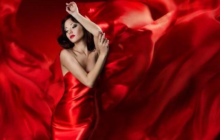Красный цвет привлекает активных и агрессивных