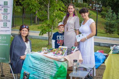 Хабаровчане избавились от опасных батареек и обменялись одеждой на фестивале «Экологика»