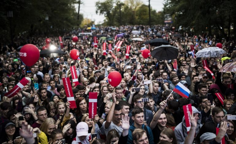 На митинг Навального в Хабаровске «опять никто не пришел»
