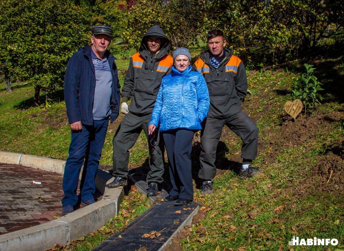 озеленение территории города Хабаровска сотрудники