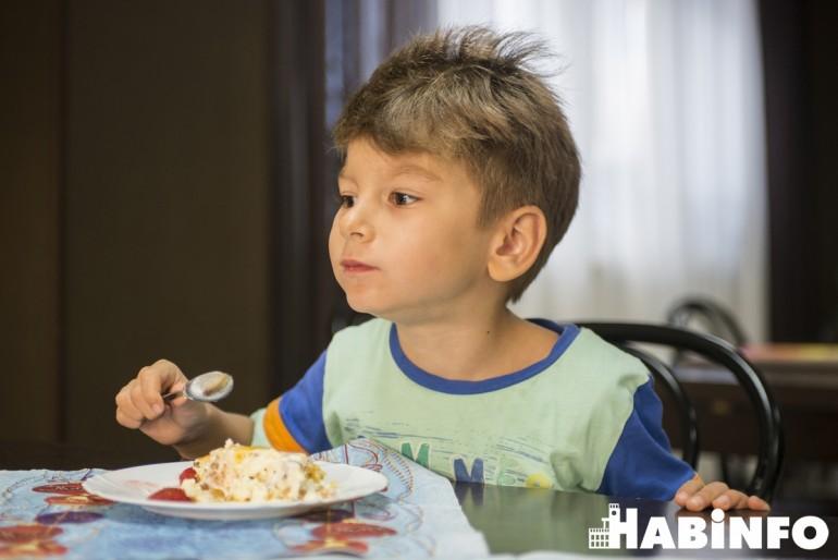 детский приготовление десерт