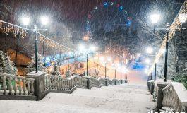 Снегопад в Хабаровске: жители краевой столицы встретили зиму